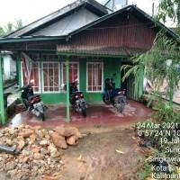 Mandiri4: Sebidang tanah berikut bangunan, di Jl. Ratu Sepudak No.15, Kel. Sungai Bulan, Kec. Singkawang Utara, Kota Singkawang