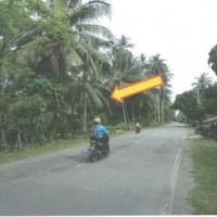 1 bidang tanah dengan total luas 8.540 m2, SHM,  di Kabupaten Donggala (Indonesia Eximbank Jakarta)
