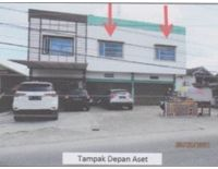 BCA PKU, T/B seluas 247 m2 sesuai  SHM No.03033 terletak di Jl. Garuda Kel. Labuh Baru Timur Kec. Payung Sekaki Kota Pekanbaru