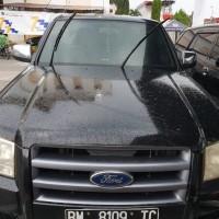 (KPP Pratama Pekanbaru Tampan) Mobil Ford Ranger XLT STD 2,5 L MT Double Cabin, Nomor Polisi BM 8109 TC, tahun 2008, warna Hitam Metalik