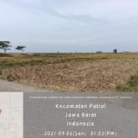 BPR Bonapasogit_1 bidang tanah dengan total luas 4424 m2 di Desa Sukahaji Kec Patrol Kabupaten Indramayu