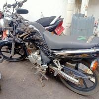 KNKT (4) : Motor Yamaha Scorpio, Nomor Polisi : B 6716 PLQ Tahun : 2010