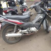 KNKT (6) : Motor Honda Revo NF 100 TD, Nomor Polisi : B 6135 PJQ, Tahun : 2007
