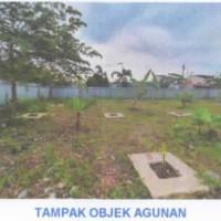 1 bidang tanah dengan total luas 1082 m2 beserta segala sesuatu yang melekat berdiri di atasnya di Kota Bontang