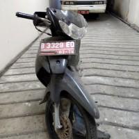 UNJ 21: Motor Suzuki Smash B 3329 EQ di Kota Jakarta Timur