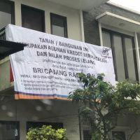 BRI Radio Dalam : 1 bidang tanah dengan total luas 135 m2 berikut bangunan di Kota Jakarta Selatan