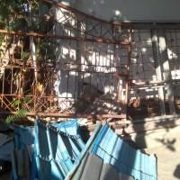 BPOM Kupang - Sisa Bongkaran Renovasi Gedung Utama di Kota Kupang