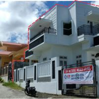 2 bidang tanah dengan total luas 182 m2 berikut bangunan di Kota Bitung. BCA Kanwil IV Makassar