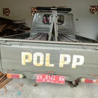 Sekda P.Raya: 1 unit mobil Pick Up Toyota KF 60, KH 8144 AW tahun 2006 di Kota Palangka Raya (4)