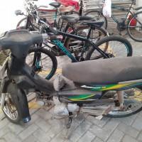 KPP Kebumen (sita pajak): Motor Honda Legenda 100cc, Nopol D 5526 YS tahun 2004 di Kabupaten Kebumen