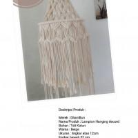 Elfiyanti - 10). Lampion Hanging decord di Kota Batam