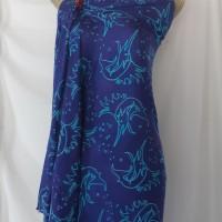 Sudiyanto - 8). Batik cap motif ikan marlin di Kota Batam