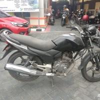 (BPS Kota GTO) : 1 (Satu) unit Motor Honda Mega Pro GL 160 D Tahun 2009 dlm Kondisi Rusak Berat