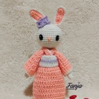 Melina Dewi R - 2). Boneka Rajut Kelinci Jepang Usagi-chan Handmade di Kota Batam