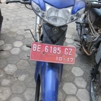 Pemkab Lamteng (9): Yamaha Vega R, tahun 2007, Warna Biru, Nomor Polisi BE 6185 GZ
