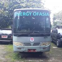 Kemenpora : 1 (satu) unit bus Merk/Type Toyota Dyna 130 LT, Tahun 2009, Nopol B 7495 IO