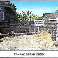 1 bidang tanah dengan total luas 240 m2 di Kabupaten Klungkung (BPR Lestari Bali)