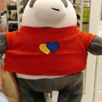 1 (Satu) Buah Boneka Panda dengan menggunakan baju bewarna merah, kondisi baru di Kabupaten Tegal