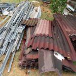 BPDASHL Sei Jang - 2) Bongkaran Renovasi : Atap Asbes Getah dan Baja Ringan di Kota Tanjung Pinang