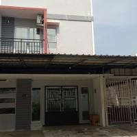 BRI NAGOYA - tanah luas 133 m2 berikut bangunan di Town House Pulo Mas Residence 3 Blok O Nomor 09, Taman Baloi Batam