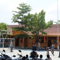 Bangunan milik MAN 3 Kota Makassar yang akan dibongkar