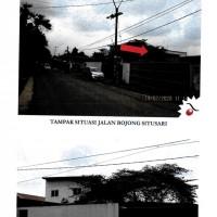 DBS Indonesia :8 tanah 1 hamparan,LT 9.182 m2,berikut pabrik,Jl Bojong Situsari 5,Kel Situsari, Kec Cileungsi,Kab Bogor