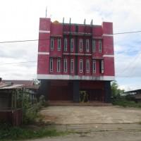 1 bidang tanah luas 720 m2 berikut ruko, hotel dan bengkel di Kampung Persatuan, Distrik Mandobo, Kab. Boven Digoel