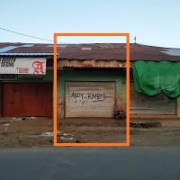 Sebidang tanah  luas 31 m2 berikut bangunan diatasnya SHM No.1899 terletak di Kel.Paruga, Kec.Rasanae Barat, Kota Bima, Prov.NTB
