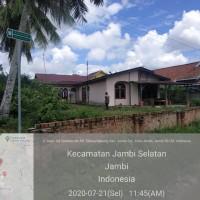 (BRI KC Jambi) : 1 bidang tanah dengan total luas 642 m2 berikut bangunan di Kota Jambi
