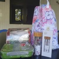 Lelang Sukarela : 1 (satu) paket peralatan rumah tangga terdiri Tablecloch, Lunch Box, Bouble Wall Bottle, Laundry Hamper di Kota Gorontalo