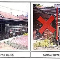 1 bidang tanah dengan luas 235 m2 berikut bangunan di Kabupaten Badung (BPR Lestari)