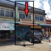 BRI PINANG - sebidang tanah luas 185 m2 berikut bangunan ruko di Jalan Pasar Berdikari RT 01 RW 18 Kelurahan Kijang Kota Kabupaten Bintan