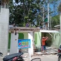 Rumkit Bhayangkara: 1 paket bongkaran bangunan ruang piket mako di Kota Mataram