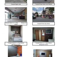 5 bidang tanah dengan total luas 1550 m2 berikut bangunan di Kota Pontianak