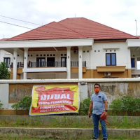 1 bidang tanah dengan total luas 814 m2  berikut bangunan SHM No 6985 di Kota Kendari, Prov. Sultra.