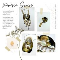 MAZA HANDCRAFTED PEARLS AND JEWELRY: 5. 1 (satu) set Parasia Series (4 item asesoris mutiara)