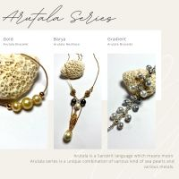 MAZA HANDCRAFTED PEARLS AND JEWELRY: 6. 1 (satu) set Arutala Series (3 item asesoris mutiara)