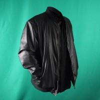 HORI: Lelang Charity Barang Preloved - Jaket Kulit Sintetis merk ZARA ukuran L