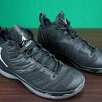 HORI: Lelang Charity Barang Preloved - Nike Jordan Super Fly 5 Men Basketball Shoes Sneaker Pure Black