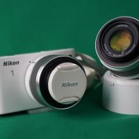 HORI: Lelang Charity Barang Preloved - Mirrorless Nikon dan Lensa 30-110 beserta Lens Hood