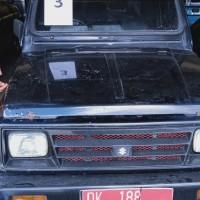 Lot 3, Mobil Suzuki SJ 410 Katana 2 WD, tahun 1990 di Kota Denpasar (BPKAD Prov. Bali)