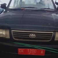 Lot 4, Mobil Toyota Kijang Kapsul KF 80 Super Long, Tahun 1997, di Kota Denpasar (BPKAD Prov. Bali)