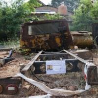 Satker Balai Besar Pelaksanaan Jalan Nasional V Palembang : 1 (paket) BMN dalam kondisi Scrap eks.kendaraan roda 4 tanpa BPKB dan STNK
