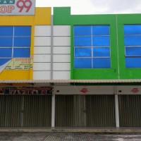 BRI NAGOYA - 3 bidang tanah luas 225 m2 berikut bangunan di Komplek Kawasan Bisnis Terpadu Sentra Niaga Mas Blok E No 6,7,8 Batam