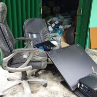 Kemenag Prov.Kepri - 1 paket Barang Milik Negara Kondisi Rusak Berat di Kota Tanjung Pinang