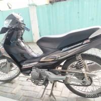 KSOP Kelas III Gorontalo: Sepeda Motor Suzuki FL 125 SD kondisi Rusak Berat di Kota Gorontalo