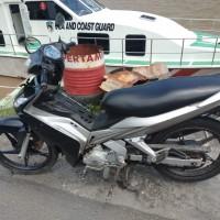 Sepeda Motor Yamaha Yupiter MX kondisi Rusak Berat di Kota Gorontalo