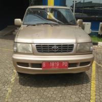 KPP Grogol 3 : Toyota Kijang KF83, tahun 2001, nomor polisi B 1819 PQ