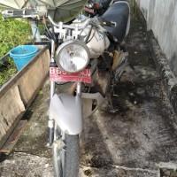 2. KANTAH NISEL - 1 (satu) unit sepeda motor Merk/Type: Suzuki/EN 125 A, Tahun 2010, kondisi rusak berat, STNK Tidak ada
