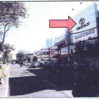 Sebidang tanah luas 375 m2 dan bangunan diatasnya,(SHGB No.209/K), lokasi di Jl.Kedungdoro, Kel/Kec.Sawahan Surabaya